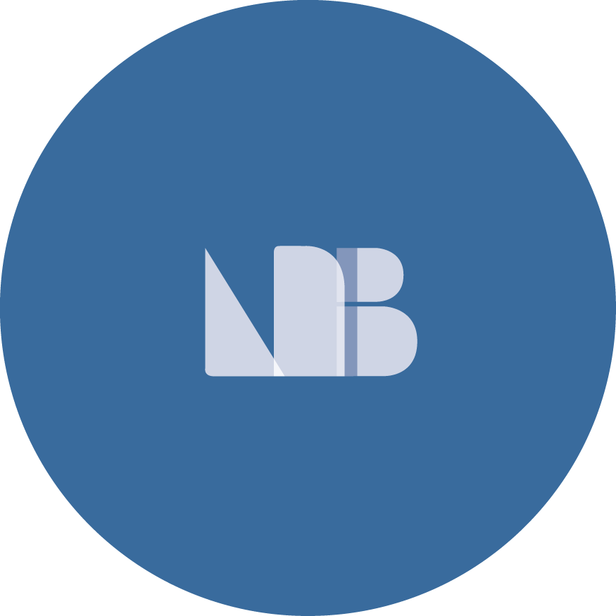 LNB broductions Blue logo