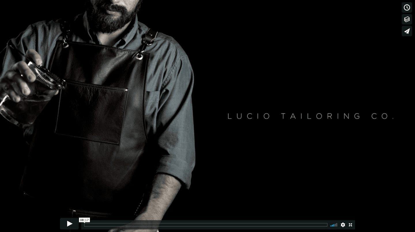 lucio tailoring co pour lnbbroductions kickstarter video